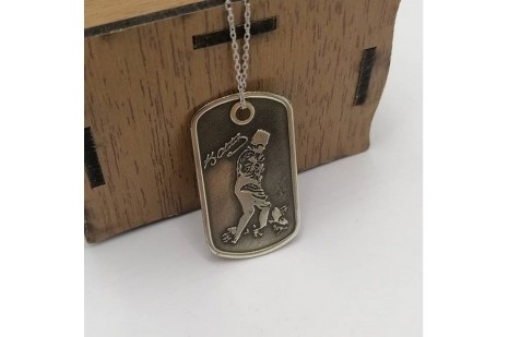 Atatürk Silüet Gümüş Asker Kunyesi
