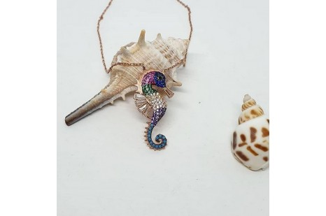 Deniz ati kolye